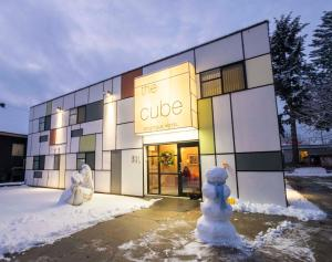 The Cube in Revelstoke