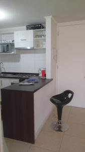 Departamento Lomas de Papudo, Апартаменты  Papudo - big - 5