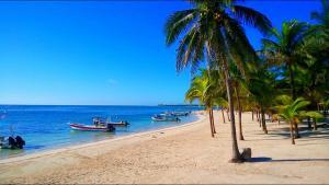 Mangrove Inn Akumal Dormitorio- Cama doble para Pareja con Playa