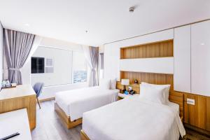 Zen Diamond Suites Hotel, Hotels  Da Nang - big - 5
