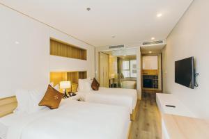 Zen Diamond Suites Hotel, Hotels  Da Nang - big - 10