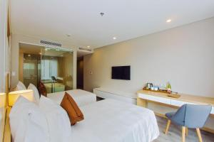 Zen Diamond Suites Hotel, Hotels  Da Nang - big - 8