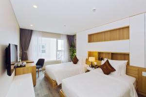 Zen Diamond Suites Hotel, Hotels  Da Nang - big - 4