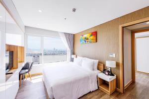Zen Diamond Suites Hotel, Hotels  Da Nang - big - 14