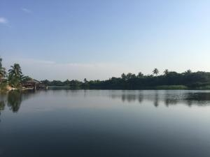 Cabin on the Volta estuary