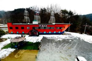 Pirate Ship Pension & Guesthouse, Penziony  Andong - big - 51