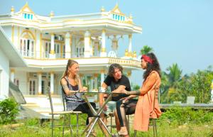 White Gold Palace, Privatzimmer  Sultan Bathery - big - 16