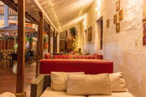 Santa María de la Rueda, Отели типа «постель и завтрак»  Barichara - big - 5