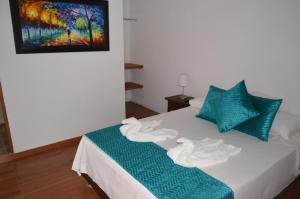 Santa María de la Rueda, Отели типа «постель и завтрак»  Barichara - big - 11