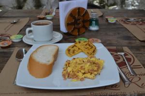 Santa María de la Rueda, Отели типа «постель и завтрак»  Barichara - big - 3