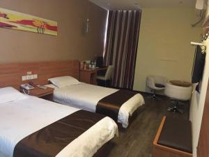 Thank Inn Chain Hotel Jiangsu Xuzhou Jiawang Century Square, Hotel  Quanhe - big - 4