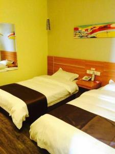 Thank Inn Chain Hotel Jiangsu Xuzhou Jiawang Century Square, Hotels  Quanhe - big - 3
