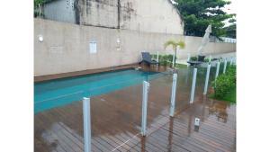 Apartamento alto padrão, Ferienwohnungen  Florianópolis - big - 21