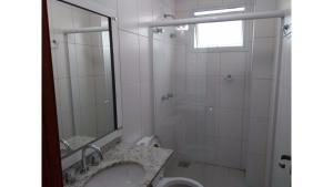 Apartamento alto padrão, Ferienwohnungen  Florianópolis - big - 10