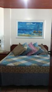 Apartamento vista mar em Ponta das Canas, Appartamenti  Florianópolis - big - 17