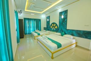 White Gold Palace, Privatzimmer  Sultan Bathery - big - 3