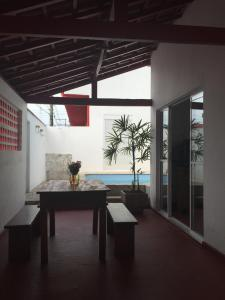 com piscina para 8 no itaguá, Case vacanze  Ubatuba - big - 9