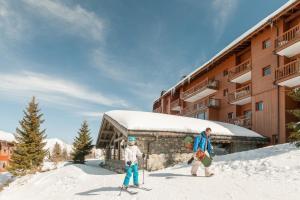 Pierre & Vacances Premium Les Alpages de Chantel, Aparthotely  Arc 1800 - big - 57