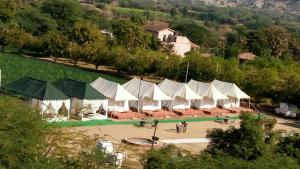 Leopard nature camp, Luxury tents  Bāli - big - 3