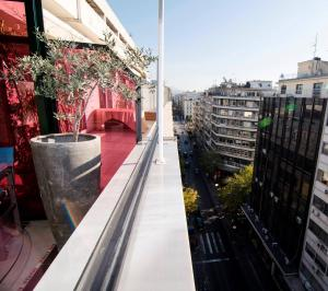 Roof Loft Studios, Apartments  Thessaloníki - big - 6