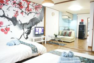 Sakura Apartemnt 0-13, Prázdninové domy  Ósaka - big - 15