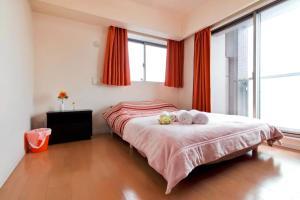 5 min Namba/tower app upper floor! Superb view!, Ferienwohnungen  Osaka - big - 17