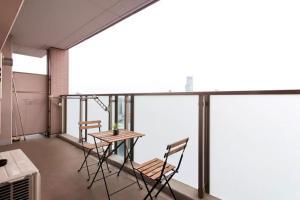 5 min Namba/tower app upper floor! Superb view!, Ferienwohnungen  Osaka - big - 14