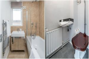Bright Spacious 2 bed 1.5 bath in Clapham, Apartments  London - big - 3