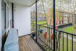 Bright Spacious 2 bed 1.5 bath in Clapham, Apartments  London - big - 7
