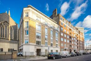 Stunning 1 bed sleeps 4 in Paddington, Apartmanok  London - big - 8