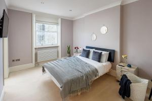 Charming 2 bed, 2 bath flat near Kensington Palace, Apartmány  Londýn - big - 2