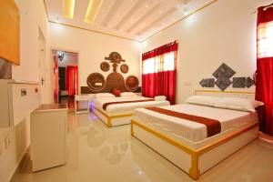 White Gold Palace, Privatzimmer  Sultan Bathery - big - 12