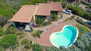 Residence Corbezzolo Rosso, Nyaralók  Costa Paradiso - big - 20
