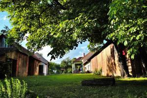 Chata Rézvirág vendégház Szaknyér Maďarsko