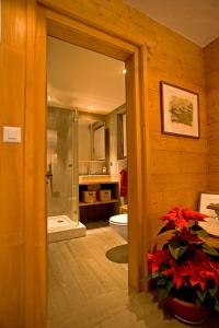 BnB Les Sapins Bleus, Bed and breakfasts  Verbier - big - 22