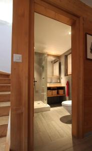 BnB Les Sapins Bleus, Bed and breakfasts  Verbier - big - 23