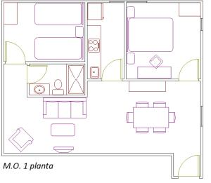IFEMA 3, Apartmanok  Madrid - big - 27