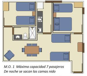 IFEMA 3, Apartmanok  Madrid - big - 26