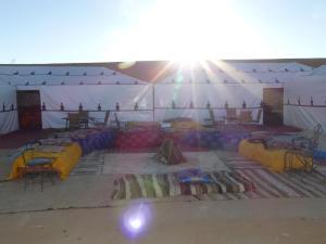 luxury camp palais des dunes