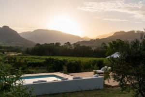 Cape Vue Country House, Pensionen  Franschhoek - big - 7