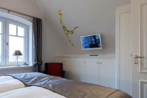 Landhaus _Berthin_Bleeg_ App_ 8 Di, Apartmanok  Wenningstedt - big - 25