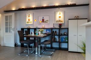 Landhaus _Berthin_Bleeg_ App_ 8 Di, Apartmanok  Wenningstedt - big - 29