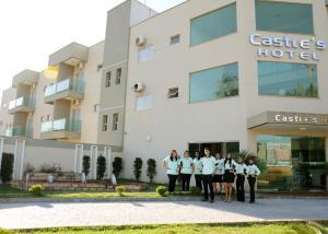 Castle's Hotel, Hotely  Santa Helena de Goiás - big - 2