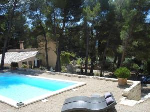 Lou Ventoulet, Bed and Breakfasts  Mouriès - big - 7