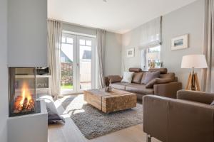 Wohnen und Mee_h_r_ App_ 1, Apartmanok  Wenningstedt - big - 39