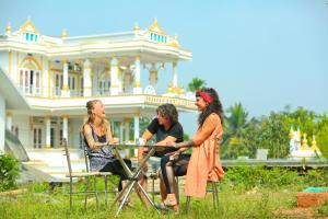 White Gold Palace, Privatzimmer  Sultan Bathery - big - 17