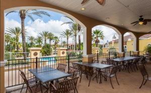 Regal Palms Calabria 3520 Townhouse, Holiday homes  Davenport - big - 28
