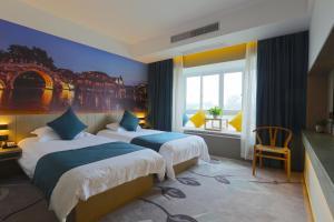 Tongxiang Wuzhen Shangjin Hotel, Отели  Wujiaqiao - big - 5