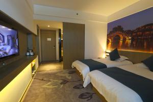 Tongxiang Wuzhen Shangjin Hotel, Отели  Wujiaqiao - big - 3