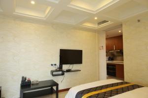 iHotel Apartment Guangzhou Folk Financial Mansion Branch, Apartmány  Kanton - big - 18